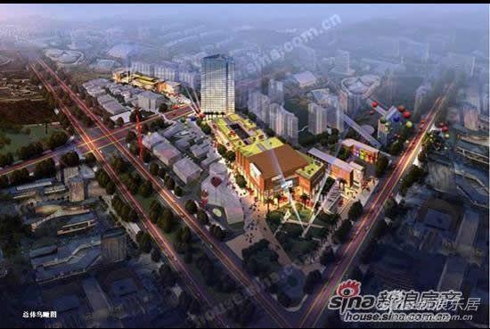北环阳光花园规划图-新浪乐居8月19日看房团之北城线