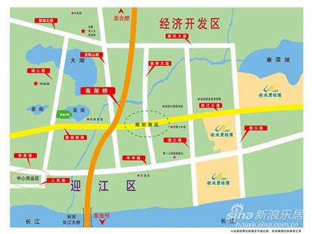 安庆碧桂园在东部新城中的区位-东部新城 聚集万千宠爱于一身